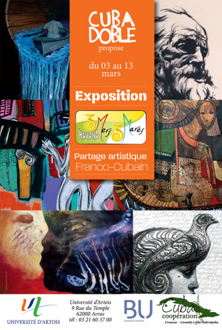 Affiche exposition 3 Mares 3 Mers